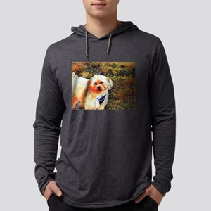 Copper the Morkie Long Sleeve T-Shirt