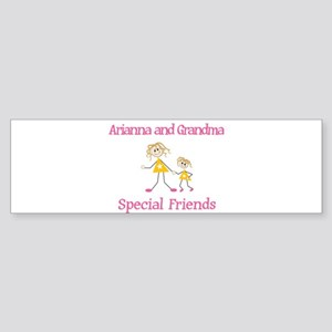 Arianna & Grandma - Friends Bumper Sticker