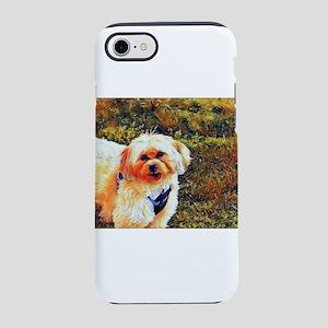 Copper the Morkie iPhone 8/7 Tough Case
