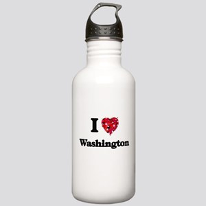 I love Washington Dist Stainless Water Bottle 1.0L