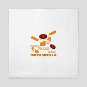 Likes Mozzarella Queen Duvet