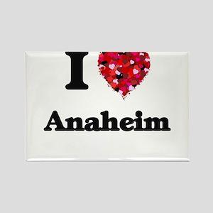 I love Anaheim California Magnets