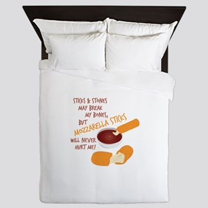 Mozzarella Sticks Queen Duvet