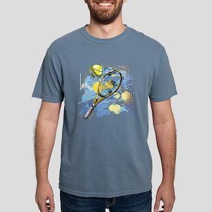 Hand drawn with graffiti tennis sport T-Shirt