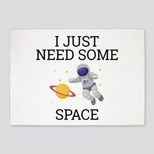 I Need Some Space 5'x7'Area Rug