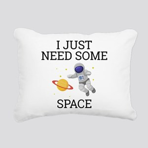 I Need Some Space Rectangular Canvas Pillow