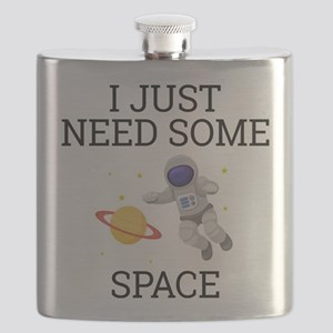 I Need Some Space Flask
