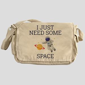 I Need Some Space Messenger Bag
