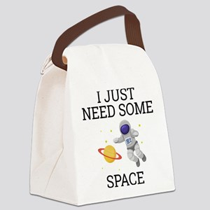 I Need Some Space Canvas Lunch Bag