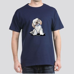 Smiling Doodle Puppy Dark T-Shirt