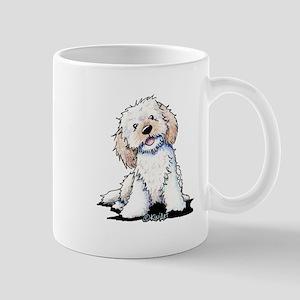 Smiling Doodle Puppy Mug