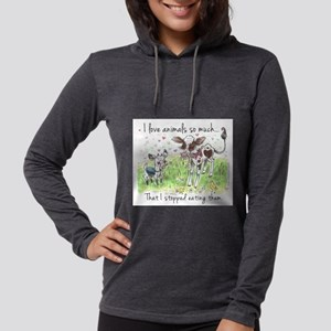 I love animals so much... Long Sleeve T-Shirt