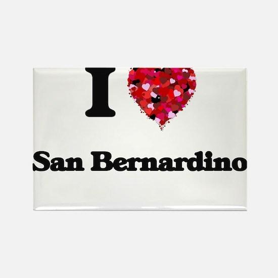 I love San Bernardino California Magnets