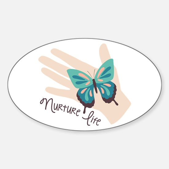 Nuture Life Decal