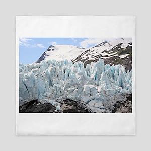 Portage Glacier, Alaska Queen Duvet