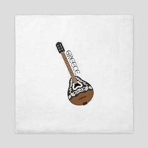 Greece Instrument  Queen Duvet
