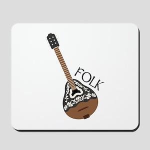 Folk Guitar Mousepad