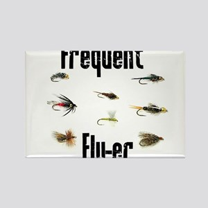 Frequent Fly-er Rectangle Magnet