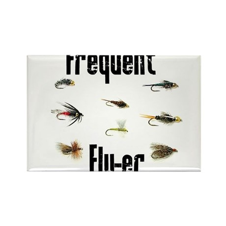Frequent Fly-er Rectangle Magnet (100 pack)
