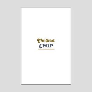 Chip Mini Poster Print