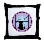 Moonlight Emblem Throw Pillow