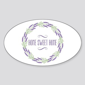 Home Sweet Home Wreath Sticker