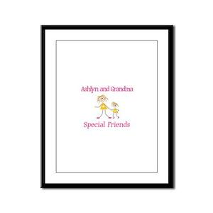 Ashlyn & Grandma - Friends Framed Panel Print