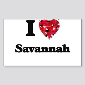 I love Savannah Georgia Sticker