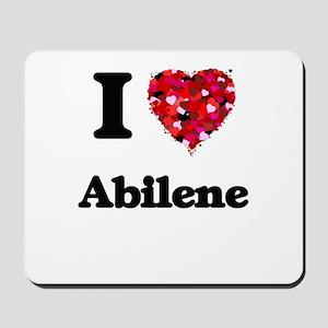 I love Abilene Texas Mousepad