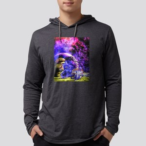 Mystic Mushrooms in Moonlight Long Sleeve T-Shirt
