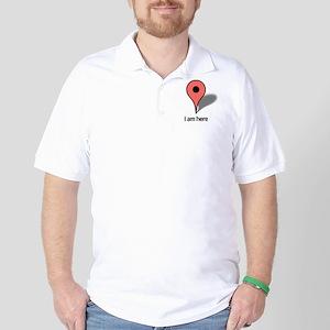 Google Map marker Golf Shirt