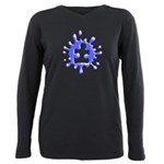 Splat Autism Plus Size Long Sleeve Tee