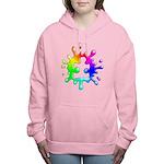 Splat Autism Women's Hooded Sweatshirt