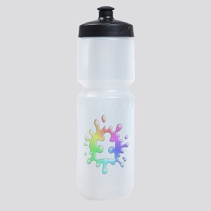 Splat Autism Sports Bottle