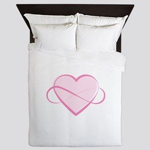 Infinite Love Queen Duvet
