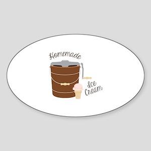 Homemade Ice Cream Sticker