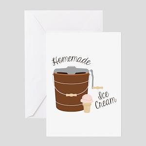 Homemade Ice Cream Greeting Cards