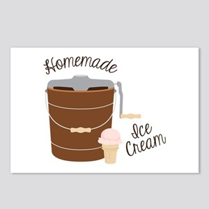 Homemade Ice Cream Postcards (Package of 8)