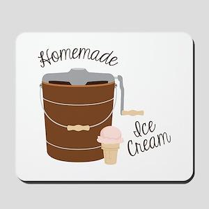 Homemade Ice Cream Mousepad