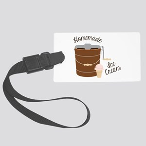 Homemade Ice Cream Luggage Tag