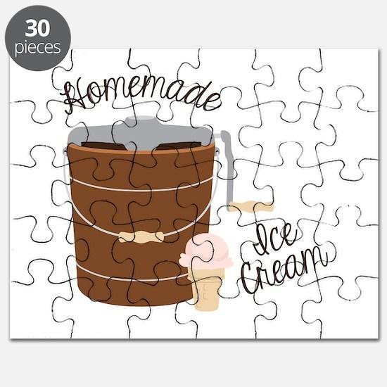 Homemade Ice Cream Puzzle
