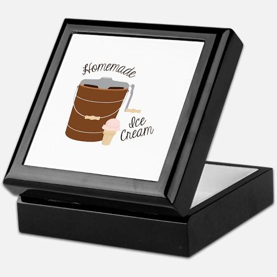 Homemade Ice Cream Keepsake Box