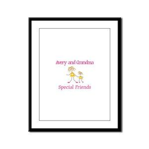 Avery & Grandma - Friends Framed Panel Print