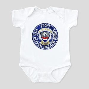 USS OLIVER HAZARD PERRY Infant Bodysuit