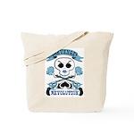 Revenge & Revolution (Blue) Tote Bag