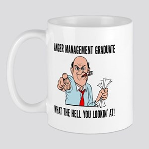 Anger Management Graduate Mug