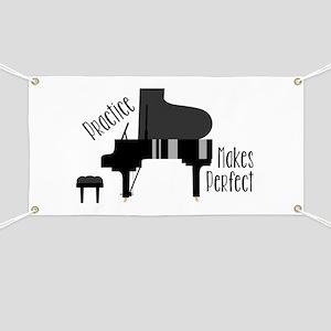 Piano Practice Banner