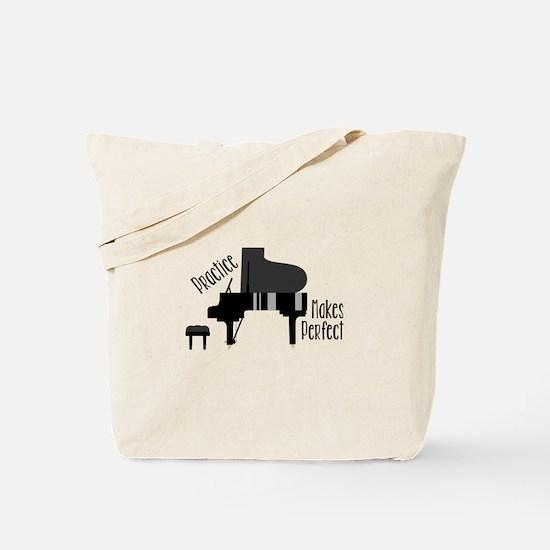 Piano Practice Tote Bag