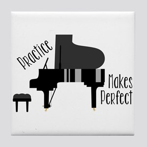Piano Practice Tile Coaster