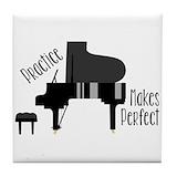 Piano Tile Coasters